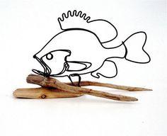 Sunfish Wire Sculpture