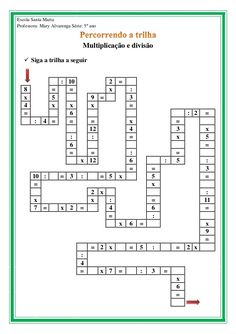 Math Activities For Kids, Kids Math Worksheets, Maths Puzzles, Math For Kids, Printable Crossword Puzzles, Logic Problems, Math Exercises, Math Fractions, 1st Grade Math