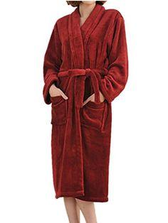 2015 Autumn winter bathrobes for women men lady s long sleeve flannel robe  female male sleepwear lounges homewear pyjamas 2679f5f69