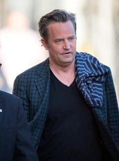 Matthew Perry at 'Jimmy Kimmel Live' on March 25, 2015....