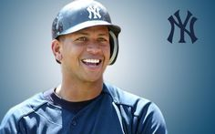 Alex Rodriguez oh yes! My Yankees, New York Yankees Baseball, Baseball Hats, Famous Baseball Players, Mlb, Beautiful Men Faces, Sports Celebrities, Better Baseball, Most Handsome Men