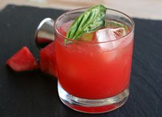Zapatos Nuevos #recipe (with watermellon basil and tequila)