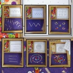 32 Ideas Pattern Art For Kids Math Activities For 2019 Montessori Preschool, Montessori Trays, Preschool Writing, Montessori Materials, Nursery Activities, Literacy Activities, Activities For Kids, Dinosaur Activities, Finger Gym