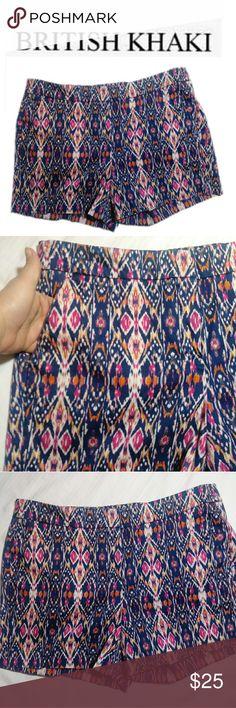 British Khaki Chino Shorts Size 8 Gently used and in great condition British Khaki chino shorts size 8. British Khaki Shorts