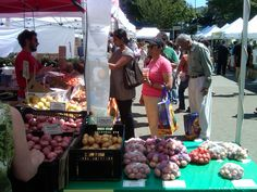 U District (University District) Farmer's Market ~ Seattle, WA ~ 2012 by Laura Hamilton