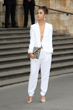 CaraSantanalooking stunning at 'One For The Boys Charity Ball' held at the Natural History Museum.