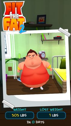Check out Fit the Fat 2! #iOS #Android #fitthefat2