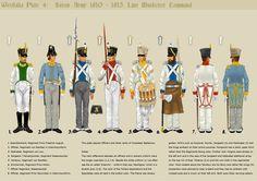 Westphalia Saxon Musketeers command 1810 -13