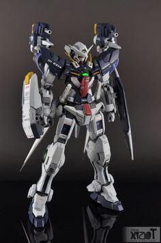 MG 1/100 Hi-Exia - Custom Build  Modeled by  ′′ 逆襲の小強          CLICK HERE TO VIEW FULL POST...