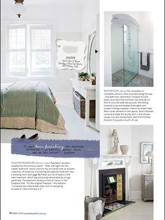 Two tone walls- dulux white duck quarter with vivid white
