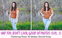 Why You Don't Look Good In Photos (Vol. 1). This is my free posing guide for women! Now you can feel confident and sassy in all your photos! This Must Be The Place - Nena Sterner Photography