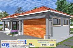 My House Plans, House Floor Plans, Exterior Paint Colors, Paint Colours, Port Elizabeth, Roof Architecture, Site Plans, Cute House, Garage Plans
