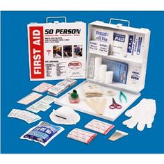 First Aid Kit - 50 Person $42.99