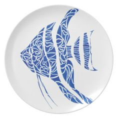 Angelfish.pdf Party Plate