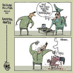 #charge #cartunistagilmar . . . #regimemilitar #militarismo #tortura #cartum #amostragratis #degustação #presopolitico #imprensa #camaradosdeputados #fascismo #fascista @@midianinja @jornalistaslivres