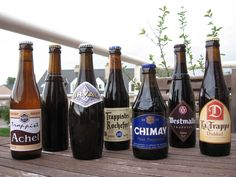The seven Trappist beers.