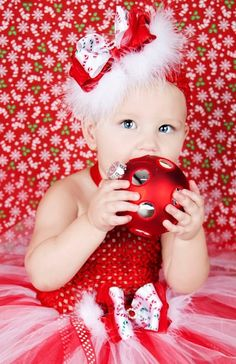 newborn baby christmas pictures tutu – Bing Images