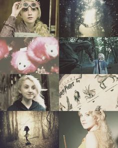 "Luna Lovegood  ""They laugh at me, because I'm different; I laugh at them, because they're all the same."""