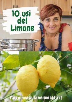 10 USI DEL LIMONE CHE VI AIUTERANNO IN CASA di Benedetta. Hacks Diy, Cleaning Hacks, Natural Cleaning Products, Lidl, Good To Know, Cooking Tips, Natural Remedies, The Cure, Food And Drink
