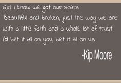Lead me - kip moore. The best of me soundtrack.
