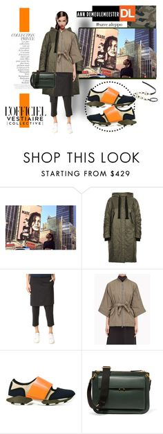 """""""Lookbook no. 43"""" by isteely ❤ liked on Polyvore featuring NIKE, Prada, 3.1 Phillip Lim, By Terry, Brunello Cucinelli, Marni, Ann Demeulemeester and savealeppo"""