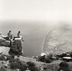 View to Perissa (Thera or Santorini, 1961) Robert A. McCabe
