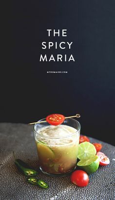 The Spicy Maria // brunch cocktail