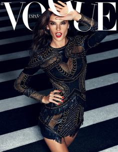""" Alessandra Ambrosio for Vogue Spain November 2014 by Alexi Lubomirski """