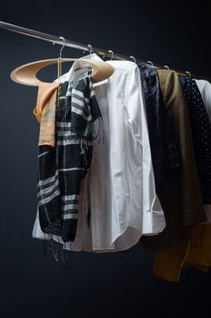 """Cloth hangers """"Trempel"""" are made of recycled materials. Cardboard tubes are very good for manufacturing, often this lightweight material is used as a packaging product. Trempel's main idea - is its ease of fabrication and replication of all used feedstock…"""