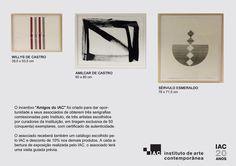 O Instituto De Arte Contemporânea estará presente na SP-Arte com um stand no setor de museus e centros culturais! De 6 à 9 de abril.  #institutodeartecontemporânea #sparte #iac #iacbrasil #arte #artistas #bienal #Ibirapuera #estaremosla #catálogos #belasartessp #belasartes #muba #museusecentrosculturais #sparte2017