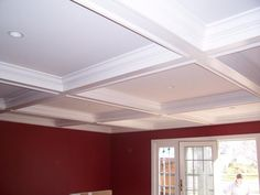 Coffered Ceiling simple design