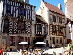 Noyers, Burgundy, France