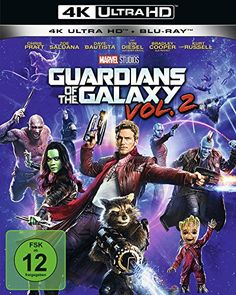 Guardians of the Galaxy 2 - Ultra HD Blu-ray [4k + Blu-ray Disc]