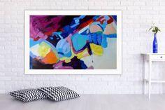 "Saatchi Art Artist VE Thomson; Painting, ""In The Air Tonight"" #art"