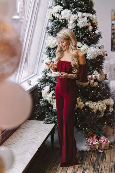 Cocktail Party Outfit, Holiday Party Outfit, Holiday Party Dresses, Classy Party Outfit, Outfit For Christmas, Christmas Fashion, Classy Christmas, Winter Christmas, Christmas Outfits For Women