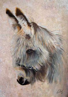 Peinture sur lin de Franck Picault