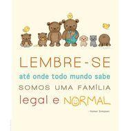 """Poster """"Família Urso"""" customizável - 27.9 x 35.6 cm"""