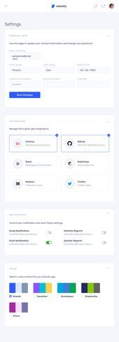 Velocity: A dashboard UI kit with a robust design system Velocity UI Kit Dashboard Ui, Dashboard Design, Blog Design, App Design, Inside Design, Design System, Ui Kit, App Ui, Application Design