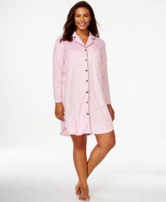 73dc564481bed Charter Club Plus Size Minky Sleepshirt   Reviews - Bras