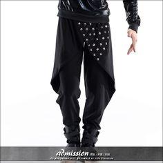 Costume fashion male personality harem pants djds mens skirt(China ...