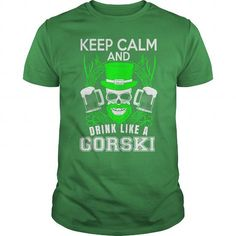 awesome GORSKI tshirt, hoodie. Its a GORSKI Thing You Wouldnt understand