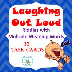Your students will be laughing out loud as they use these 32 multiple choice task cards to reinforce words that have more than one meaning (homophones). A student answer sheet for students to record their answers is included along with an answer key for self-checking. *18 task cards require more than one answer*14 task cards only have one correct answerThese task cards are perfect for test prep and will work well at literacy centers, for partner work, or with the whole class using a game…