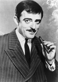 John Astin as Gomez Addams from the Addams Family TV series.