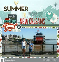 Layout: Summer in New Orleans - Imaginisce