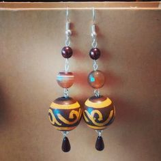 Etnic earrings #handmade #diy #madeinItaly