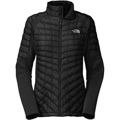 The North Face Momentum Thermoball Hybrid Womens Jacket  XLargeTNF BlackTNF Black *** Learn more by visiting the image link. #WomensOutdoorClothing