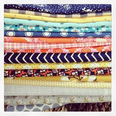 fabrics- can never have enough variety