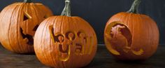 Pumpkin Carving Pointers & Patterns