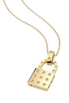 Roberto Coin Padlock Necklace - Aisha Muharrar's Personal Style