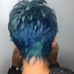 Nothing like a great cut ✂️✂️ jmezrahstyle Short Messy Haircuts, Short Spiky Hairstyles, Fishtail Hairstyles, Cool Hairstyles, Baddie Hairstyles, Wedding Hairstyles, Braids For Short Hair, Short Hair Cuts, Short Hair Styles
